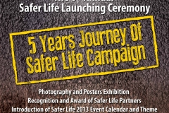 Safer Life 2013 Launching Poster